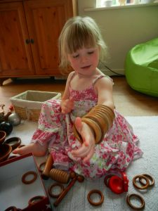 LOOSE PARTS AND SENSORY PLAY