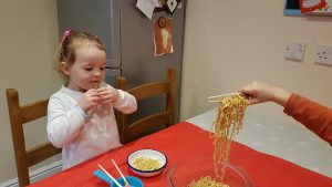 Chinese New Year noodle fun!